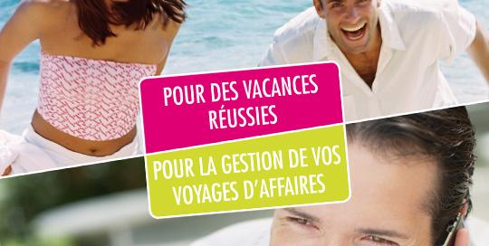 Affiche pour agence de voyages