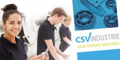 Communication pour CSV Industrie
