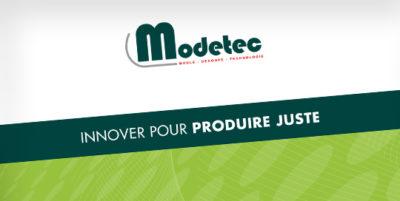 Communication pour Modetec