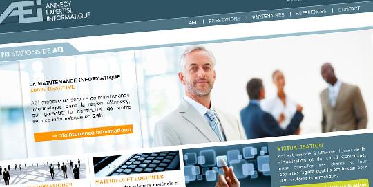 Communication pour agence informatique