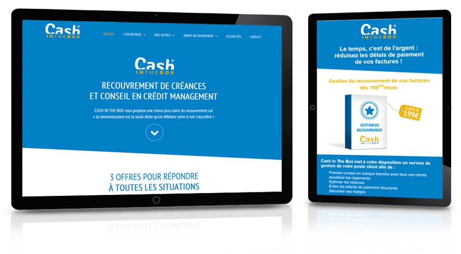 Réalisation site internet pour CIB Consulting