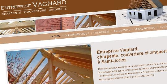 Site internet pour charpentier