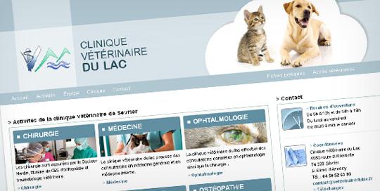 Site internet pour clinique vétérinaire